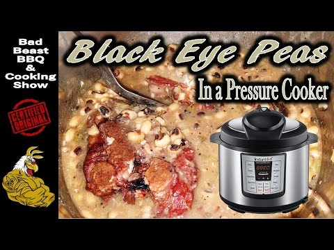 Black Eye Peas In the Instant Pot Pressure Cooker