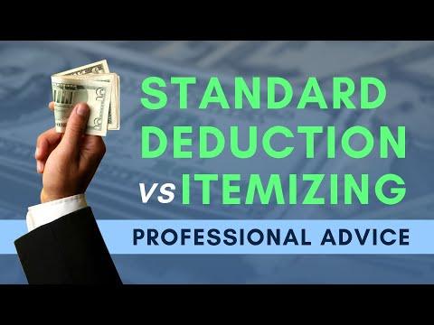 Itemizing vs  Standard Deduction   Mark J Kohler   Tax & Legal Tip