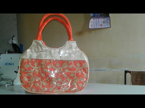 How to make hand bag at home || hand bag design
