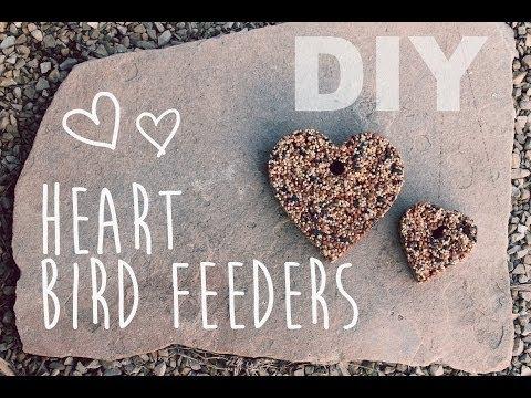 DIY Heart Bird Feeder | ArtsyPaints