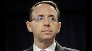 "Breaking ""Congress May Impeach Rod Rosenstein"" Swamp Reeks"
