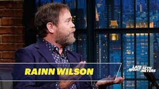 Rainn Wilson Thinks Being Eaten by a Shark Would Be Awesome