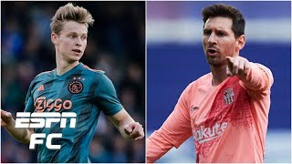 How Frenkie de Jong will mesh with Lionel Messi & Luis Suarez at Barcelona   La Liga