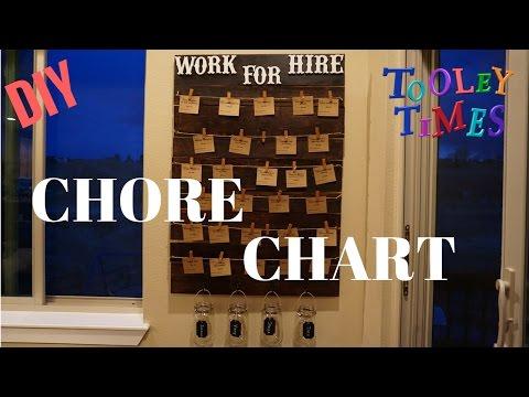 DIY MONDAY - Chore Chart