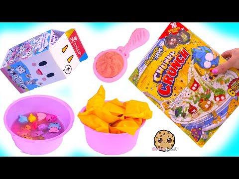 Breakfast Time ! Color Change Grossery Gang + Num Noms Surprise Blind Bags