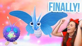 SHINY VENONAT REACTION & VENOMOTH EVOLUTION   Pokémon Let