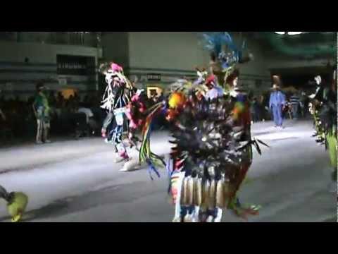 2012 Rockin The Rez Pow Wow Men's Chicken Dance El Paso TX 5-19-12