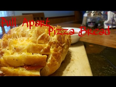 Pull Apart Pizza Bread | The Cooking Corner
