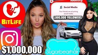 Download I BECAME A SOCIAL MEDIA INFLUENCER ON BITLIFE! *NEW CHALLENGE* Video