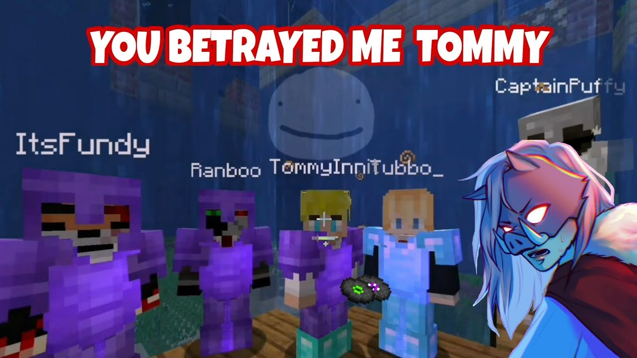 TommyInnit BETRAYS Technoblade and Fights Against Him