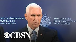 Vice President Pence announces Syria ceasefire
