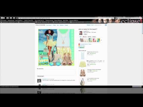 How to work Polyvore.com.mp4