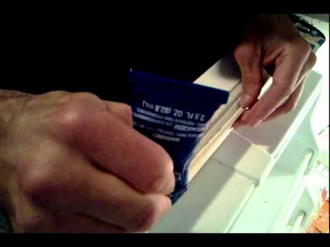 Cracked Refrigerator Door Seal FIX DAP Silicone Video