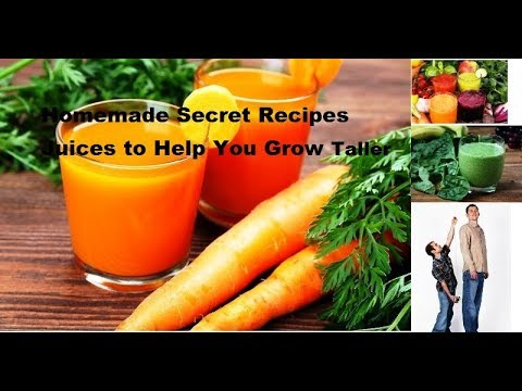 Homemade Secret Recipes : Juices to Help You Grow Taller | How To Grow Taller