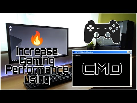 How to Increase Gaming Performance in Any PC through CMD...