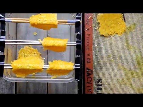 Cheese Taco Shells Video