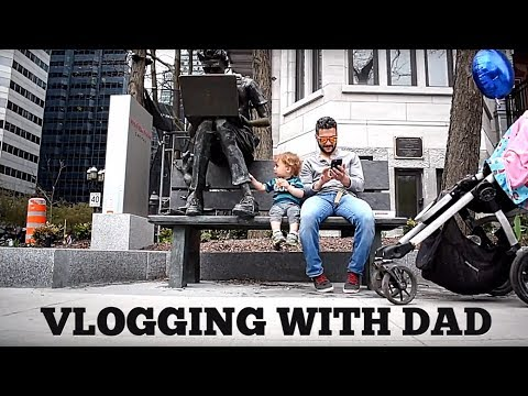 WORLD'S WORST COFFEE - VLOGGING WITH DAD