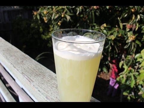 How to Make Sea Salt Green Tea Crema - 鹽奶蓋綠茶