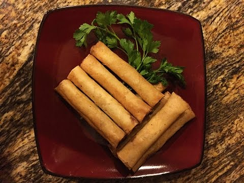 Shrimp and Pork Lumpia (Filipino Springrolls)