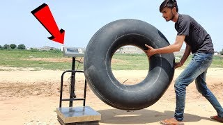 Air Weight Experiment || Air Can Be Weighed Or Not || Experiment King