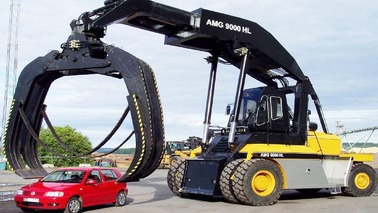 Amazing Dangerous Powerful Excavator Destroy Car - Biggest Heavy Equipment Machines Working