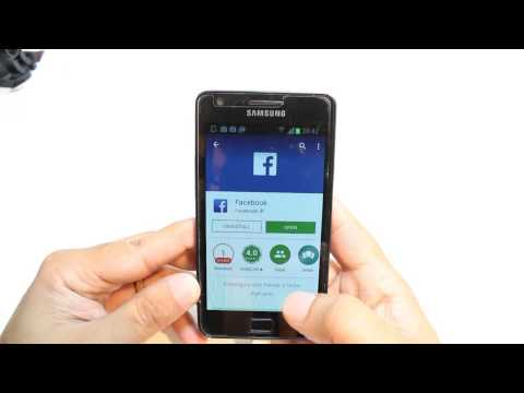 Facebook install to Samsung Galaxy S2, S3, S3, S4, S5, S6
