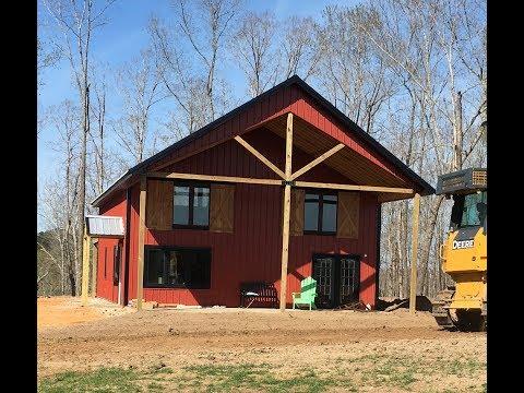 Pole Barn House Update April 2017
