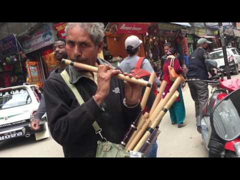 Famous Nepali song played in Flute(ठमेल को दाजुले सुनाये रेस्सम फिरिरी को मिठो धुन बसुरी मा)