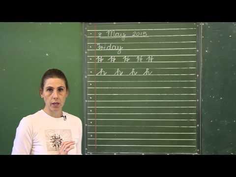 Ms Allsworth - Grade 3 cursive writing lesson