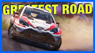 WRC 7 Career Mode : GREATEST DRIVING ROAD!!