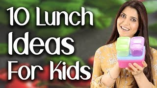 10 Lunch Ideas for Kids (Subtitles in English) - Ghazal Siddique