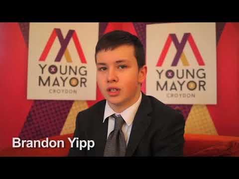 Croydon Young Mayor candidate - Brandon Yipp