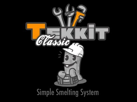 How To || Tekkit || Building A Simple Smelting System In Tekkit Ep.1