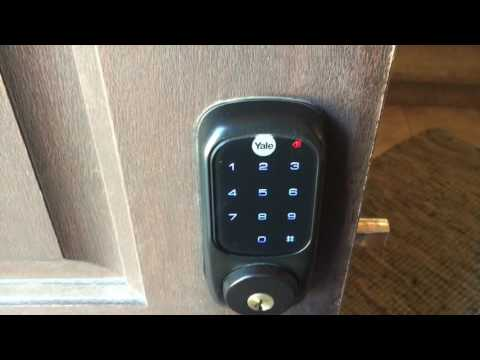 How to Change Codes on a Yale Touchscreen Deadbolt