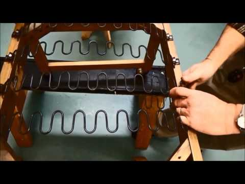 Upholstery Basics: Step by Step Installing Zig Zag Springs