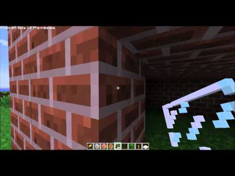 Minecraft 1.8 how to make glass pane's
