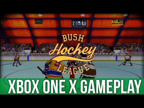 Bush Hockey League - Xbox One X Gameplay (Gameplay / Preview)