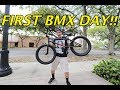2018 Kink BMX bike unboxing + FIRST TIME RIDE!