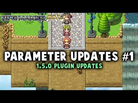 Plugin Parameter Updates #1 - RPG Maker MV