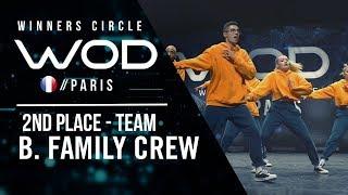 B. Family Crew | 2nd Place Team Division | World of Dance Paris Qualifier 2018 | Winner