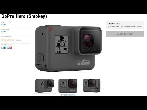 New GoPro Hero (2018) Coming March 29th