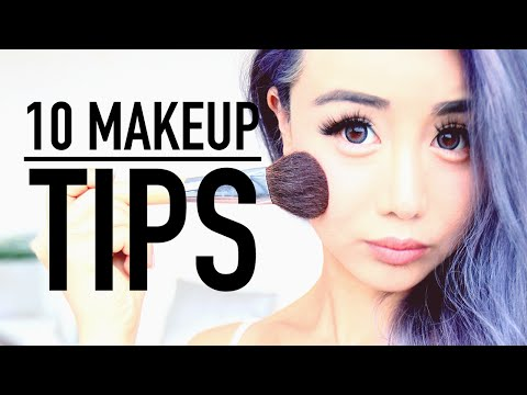 10 Essential Makeup Hacks & Tips ♥ Wengie