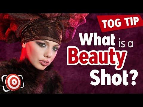 What is a Beauty Shot?  Definition of a beauty portrait