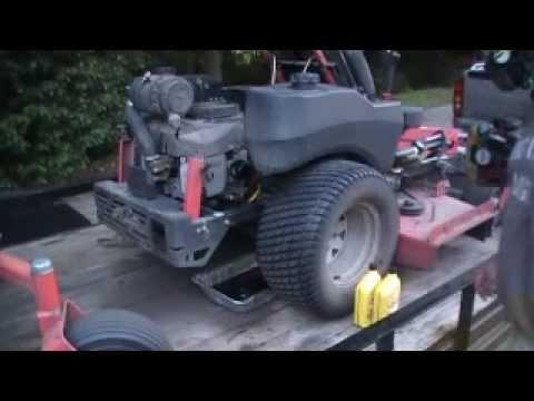 How to change oil in 25 hp Kawasaki motor