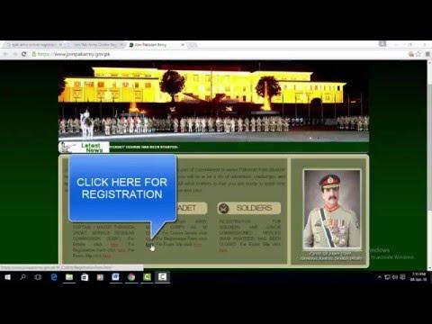 Online Registration Process for AMC