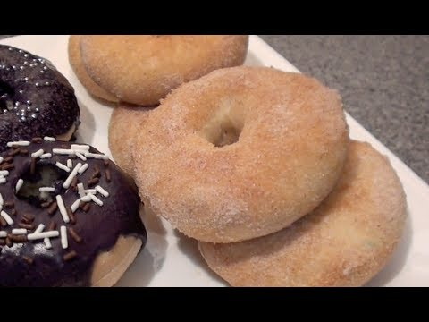 HOW TO MAKE HOMEMADE DONUTS: BAKED NOT FRIED