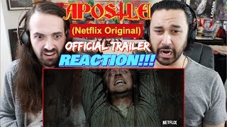 APOSTLE (Netflix Original) | Official Trailer REACTION & REVIEW!!!