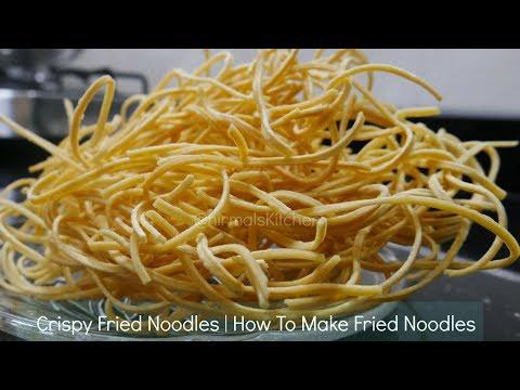 Crispy Fried Noodles | How To Make Fried Noodles