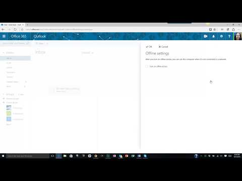 Use Offline Settings in Microsoft Outlook Web App