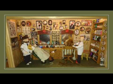 How to make a miniature Barber shop